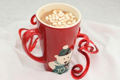 Hot Chocolate Eggnog