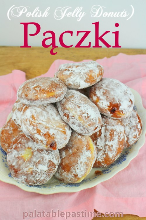 Pączki (Polish Jelly Donuts)