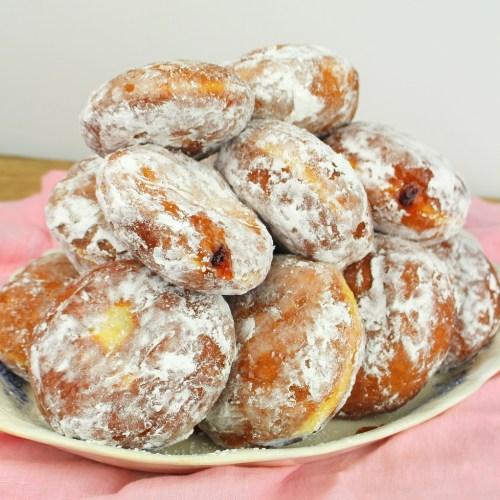 Pączki (Polish Jelly Donuts)