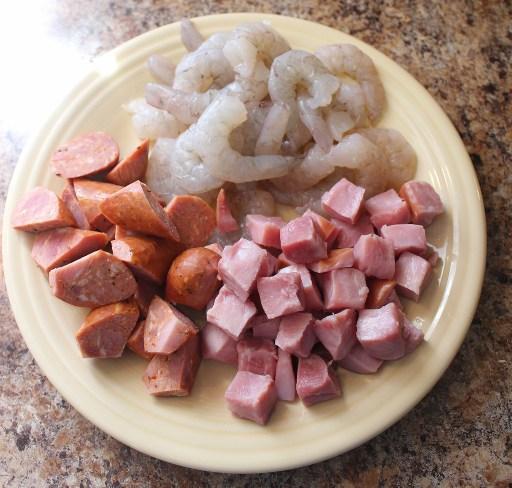 Jambalaya Meats