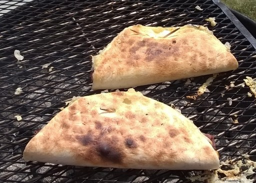 Grilling Quesadillas