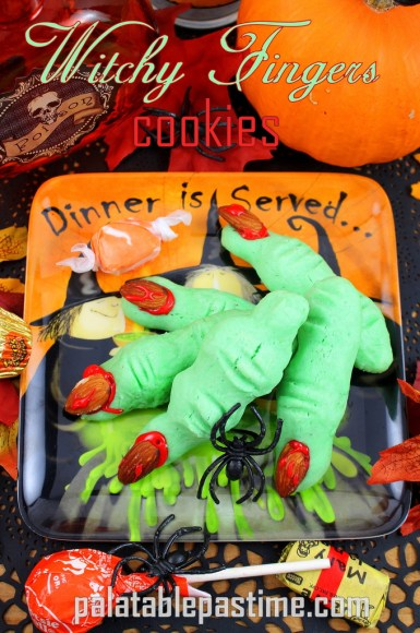 Witchy Fingers Cookies