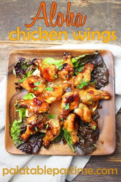 Aloha Chicken Wings