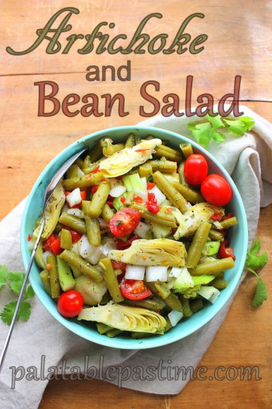 Artichoke and Bean Salad
