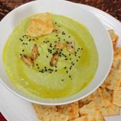 Asparagus and Roasted Garlic Hummus