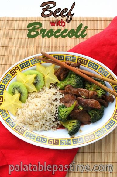 Beef with Broccoli #SundaySupper