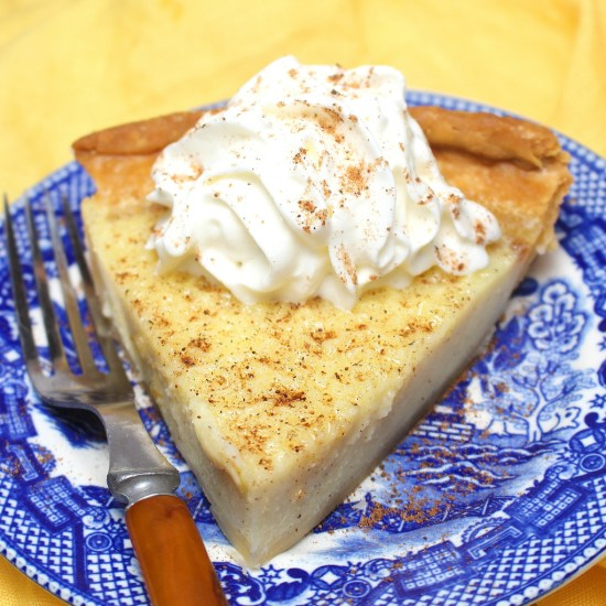Old-Fashioned Buttermilk Pie