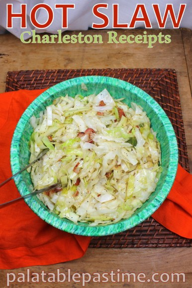 Charleston Receipts Hot Slaw