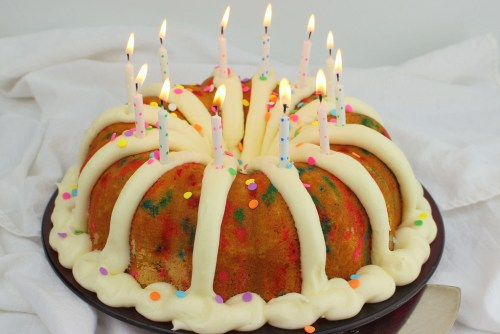Confetti Birthday Bundt Cake