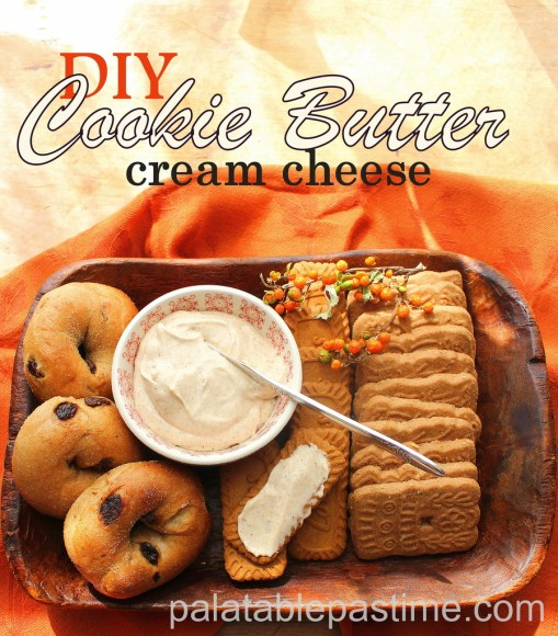 DIY Cookie Butter Cream Cheese
