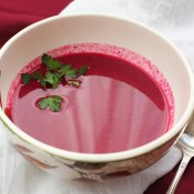 Cranberry Borscht