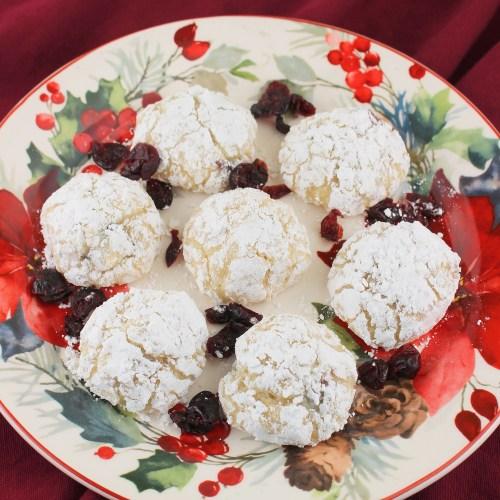 Cranberry Christmas Balls