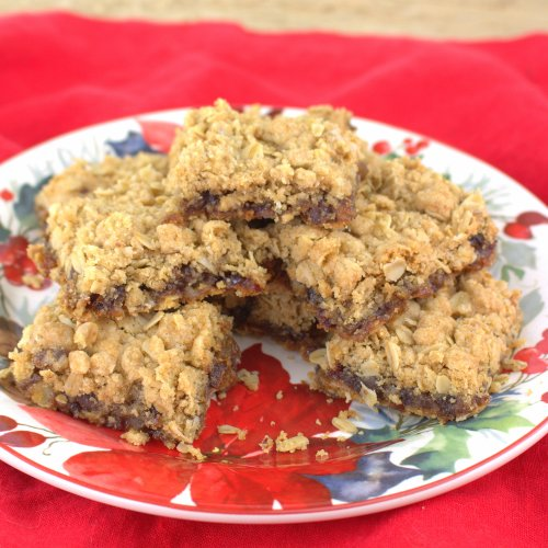 Cranberry Date Bars