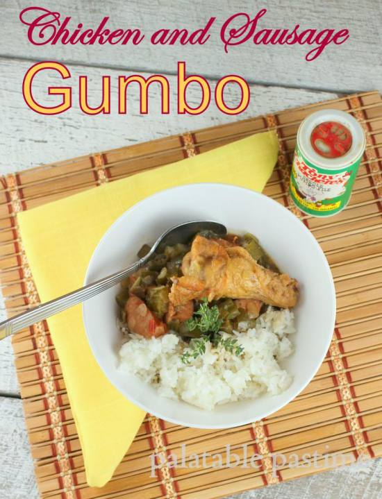 Cajun Chicken and Sausage Gunbo