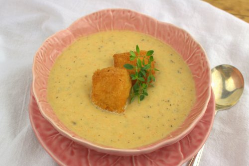 Irish Leek and Parsnip Soup