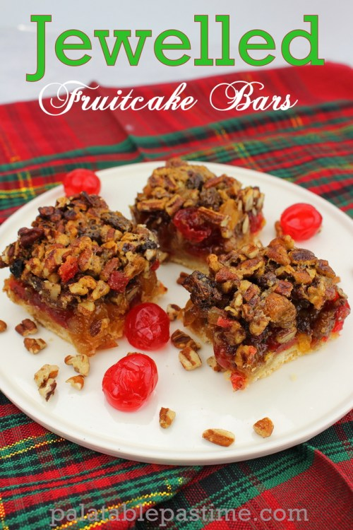 Jewelled Fruitcake Bars