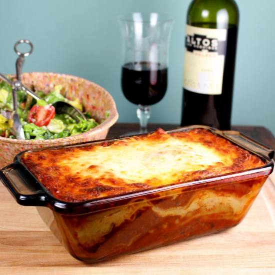 Lasagne in Pan