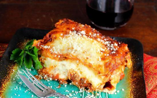 Lasagne Slice