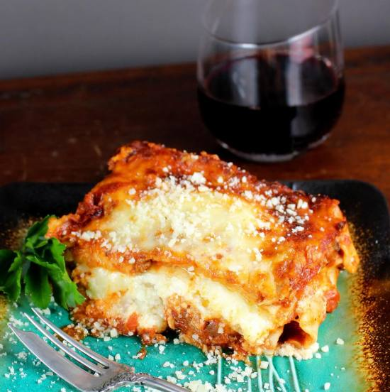 Lasagne Sliced