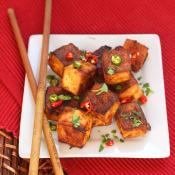 Mala Tofu Bites