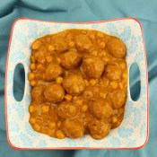 Meatball and Chickpea Curry (Kofta Choley)