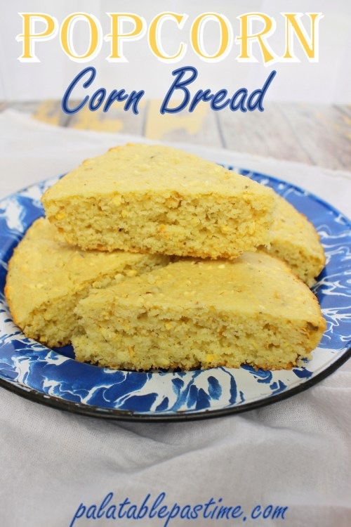 Popcorn Corn Bread