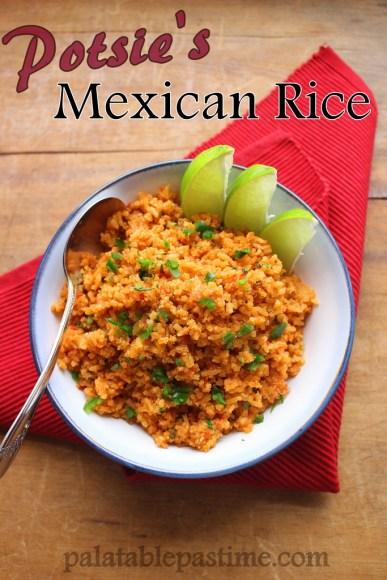 Potsie's Mexican Rice