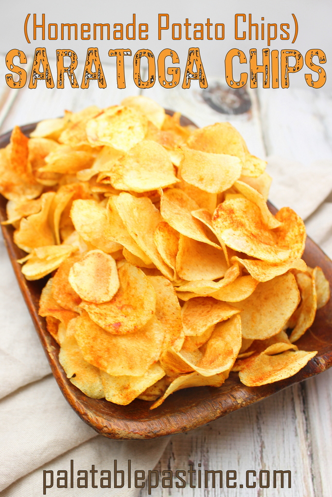 Saratoga Chips and FootballFood Recipe RoundUp
