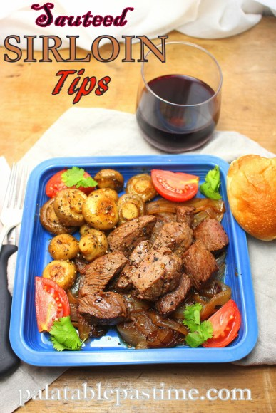 Sauteed Sirloin Tips with Mushrooms