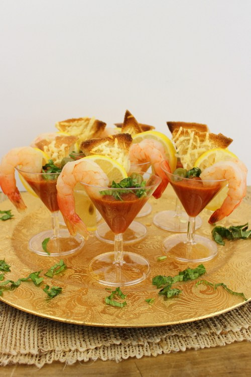 Shrimp Martini