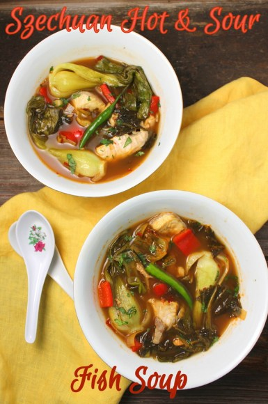 Suan Cai Yu: Szechuan Hot and Sour Fish Soup #FishFoodieFridays