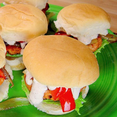 Tandoori Chicken Sliders