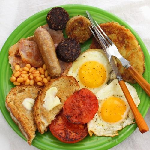 Ulster Fry Full Irish Breakfast