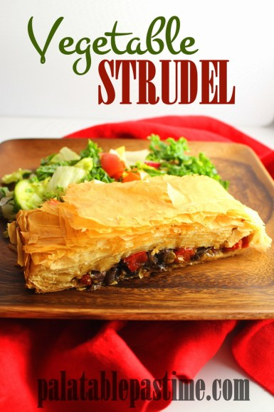 Vegetable Strudel for #SundaySupper