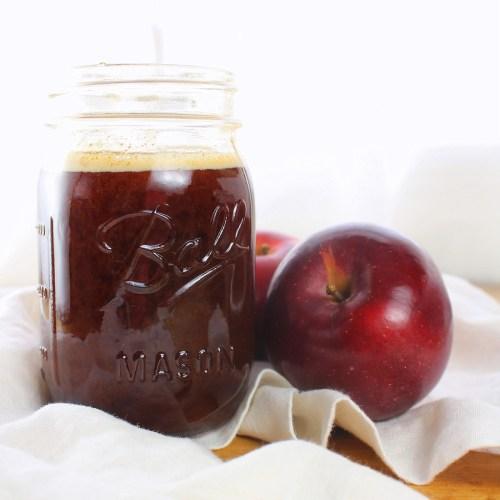 Apple Molasses (Boiled Cider or Cider Syrup)