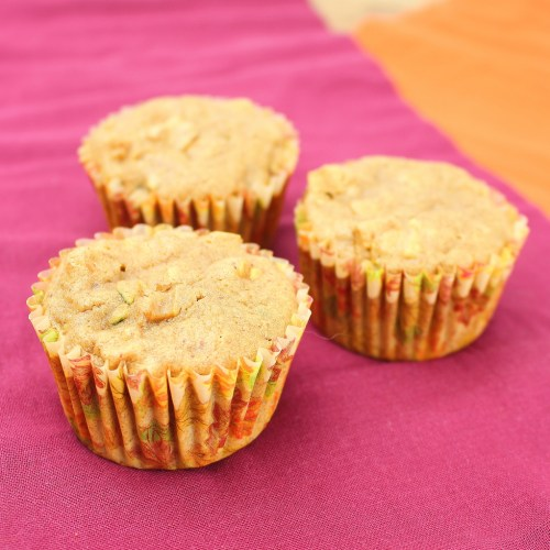 Apple-Zucchini Muffins