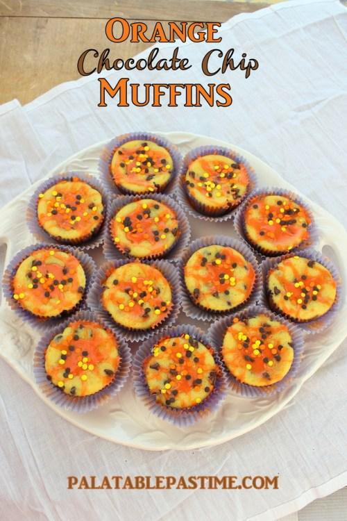 >Orange Chocolate Chip Muffins