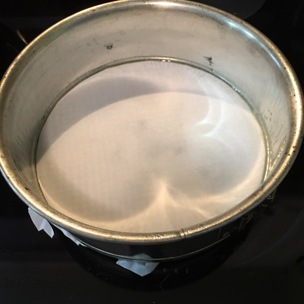 Lining Springform Pan with Parchment Paper