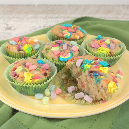 Lucky Charms Muffins