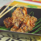 Chinese Sticky Sesame Chicken Wings