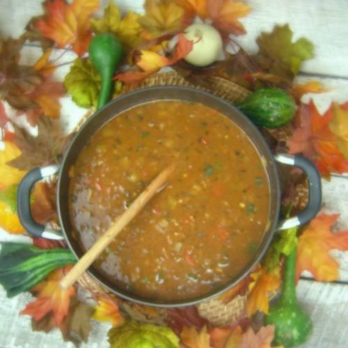 Bison Pozoloe Soup