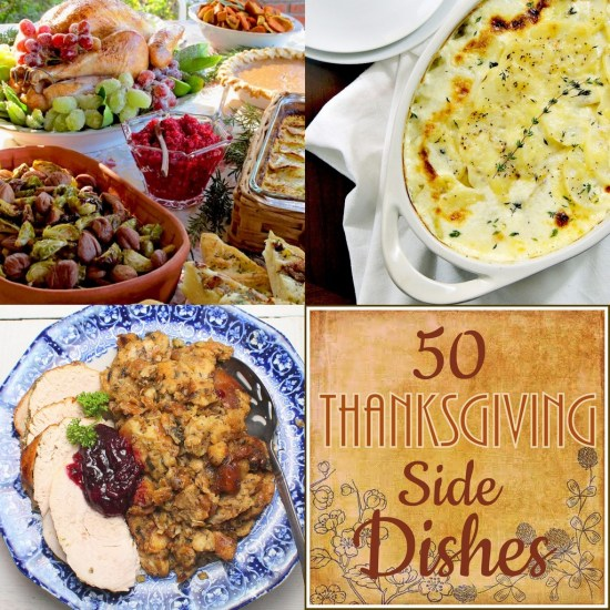 50 Amazing Thanksgiving Side Dishes