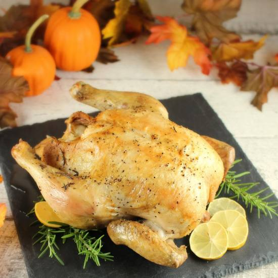 Simple and Easy Oven Roast Chicken