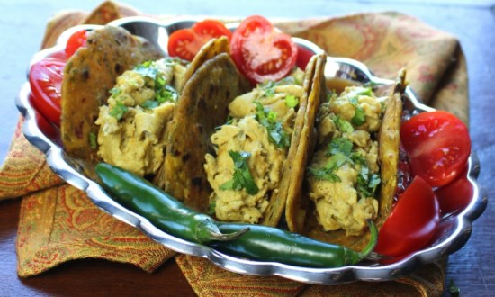 Curry Scrambled Eggs