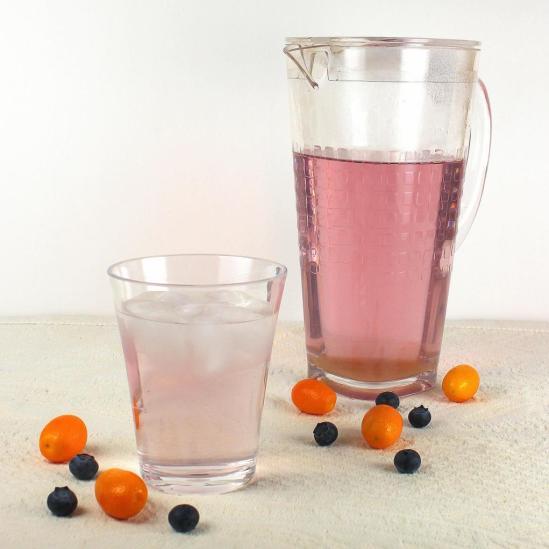 Blueberry Kumquat Infused Fruit Water