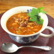 Crock Pot Italian Cannellini Bean Soup