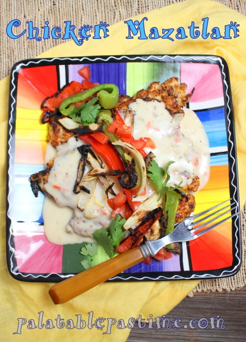 Chicken Mazatlan #SundaySupper