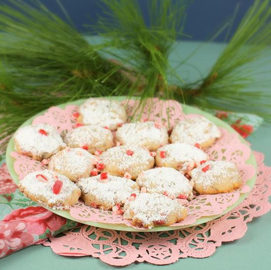 Frosty Snowball Cookies