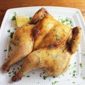 Honey Roasted Cornish Game Hens