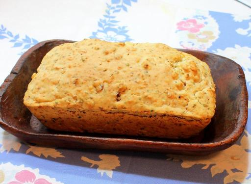 Savory Bacon Beer Bread